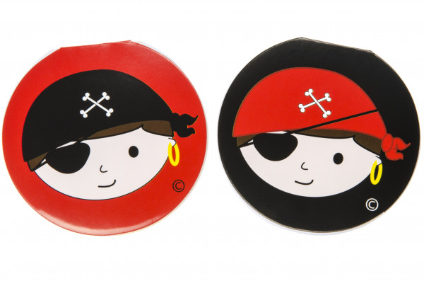 Elfen und Zwerge - Notizblock Piraten - Schreibblock für Kinder - Mitgebsel Kindergeburtstag - 6 Stü