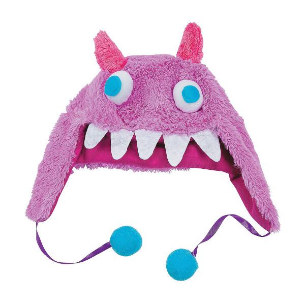 Monstermütze Mütze Karneval Fasching Monsterparty Kindergeburtstag Kostüm