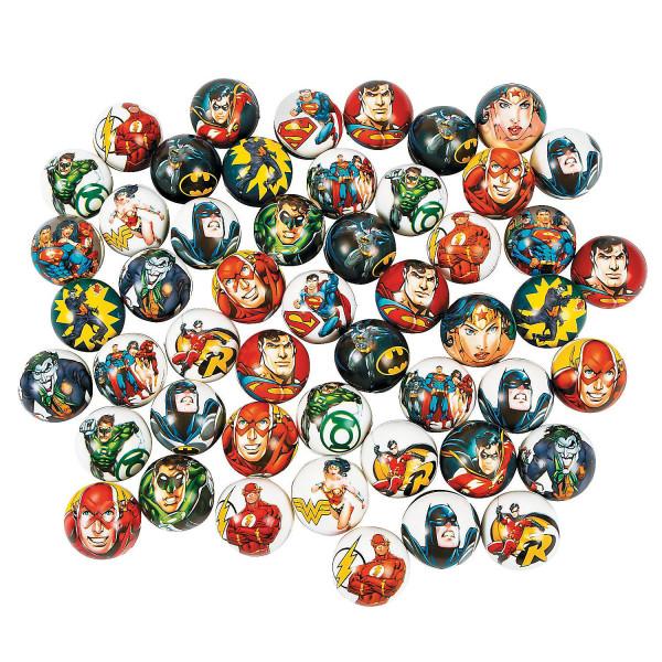 6 x Bälle Superhelden Kindergeburtstag Kinderparty Superheldenparty Mitgebsel Mitbringsel Adventskal
