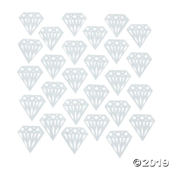30 St. Konfetti Streudekoration Diamant doppelseitig Hochzeit Feier Party
