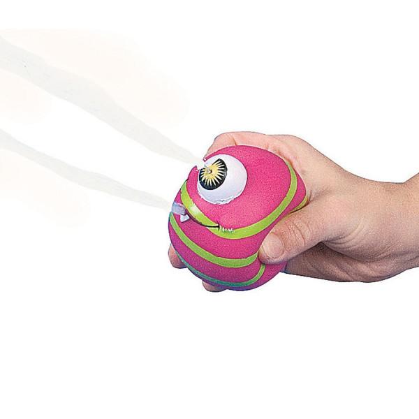 6 x Monster Ball Wasserpistole Spritzpistole Monsterparty Wurfball Geburtstag Kindergeburtstag Kinde