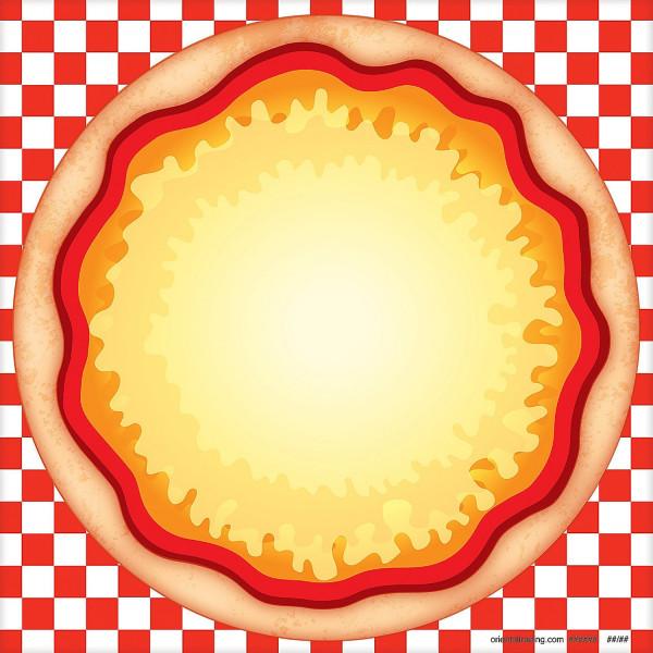 12 x Pizza belegen Sticker Aufkleber Restaurant Kinderbeschäftigung Geburtstag Basteln Kindergeburts